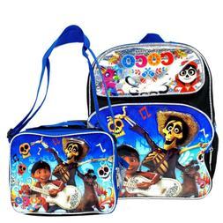 """12"""" Disney Pixar Coco Backpack Small School Bag Bookbag w/ L"""