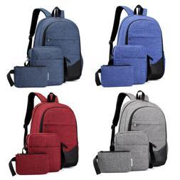 3pcs school backpack for boys teens bookbag