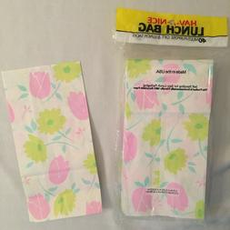 40 Floral Paper Bags: Gifts,Goody Bags, Party Favor, Sample