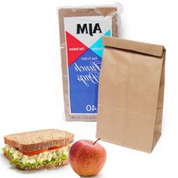 40 Pc Paper Bags Sandwich Container Snack Food Party favors