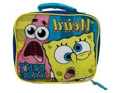 "9.5"" SpongeBob Square Pants Soft Lunch Kit/Lunch Bag/Box"