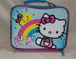 NEW, NWT Thermos Hello Kitty Soft Lunch Box Kit - Blue, Pink