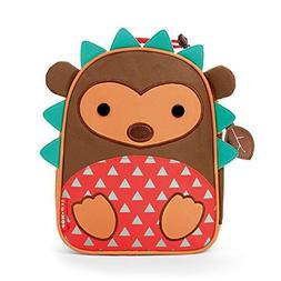 Skip Hop Zoo Kids Insulated Lunch Box, Hudson Hedgehog, Brow