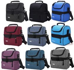 adult lunch box insulated lunch bag large