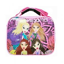 Bratz Girls Printed Flower Hot Pink Lunch Bag Girls for Kids