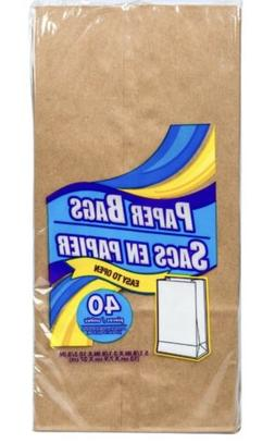 **BUY 2 GET 1 FREE!**     Brown Paper Bags Disposable Lunch