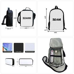 chaqlin Kids School Backpack Cool Children Bookbag Lunch Bag