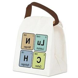 CafePress Chemistry Lunch Canvas Lunch Bag with Strap Handle