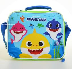 BABY SHARK CHILDRENS INSULATED LUNCH BOX SOFT SCHOOL TRAVEL
