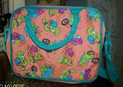 Colorful DINO Lunch Bag with Removable Strap 1991 Impact Int