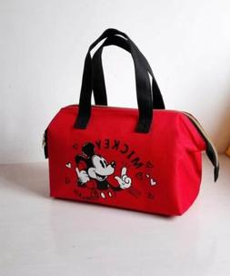 cute Mickey mouse lunch bag handbag keep warm cool storage b