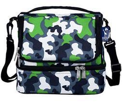 Wildkin Digital Camo Military Double Decker Lunch Bag Brand