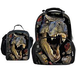 Bigcardesigns Dinosaur Fashion Shoulder Bag School Bags Set