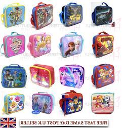 Disney Children's Kids Boys Girls Insulated Lunch Bag LOL PJ