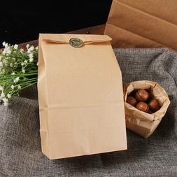 Disposable Craft Paper Food Bag Breakfast Lunch Bag Bread Co