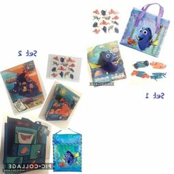 Disney Finding Dory Nemo Tote Bag Lunch Sack Puzzles Books G