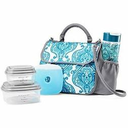"Fit "" Fresh Lovelock Insulated Lunch Bag Kit For Women With"
