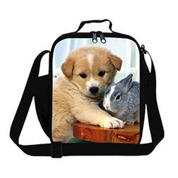 GIVE ME BAG Generic Fashionable Dog Lunch Bags for Kids Scho