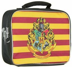 Harry Potter Hogwarts Crest Insulated Lunch Box Tote Bag New