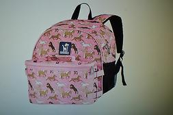 Wildkin Horses in Pink Bogo Backpack with Lunch Bag