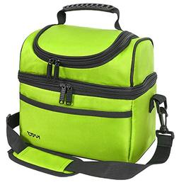 Kato Insulated Lunch Bag, Leakproof Bento Cooler Tote Lunch