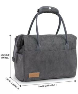 Insulated Lunch Bag Box Women Men Kids Tote Travel Food Hot