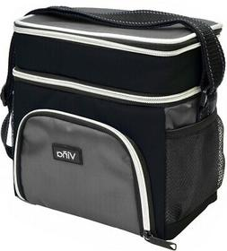 Vina Insulated Lunch Bag Dual Compartment Cooler Tote Bag fo