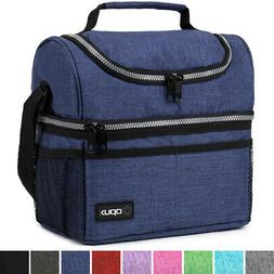Insulated Lunch Bag For Men Women Thermos Cooler Adults Tote