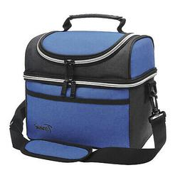 Insulated Lunch Bag, Leakproof Thermal Bento Cooler Tote Dua