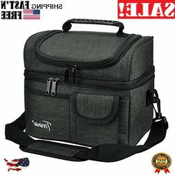 insulated lunch bag leakproof thermal bento cooler