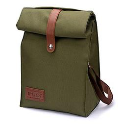 Insulated Lunch Bag -Small reusable Cooler Travel Lunchbox S