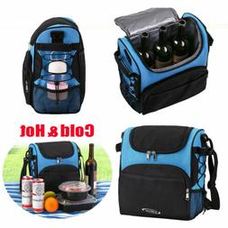 Insulated Lunch Bags Hot Travel Picnic Pouch Men Women Leakp