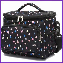 Insulated Reusable Lunch Bag Adult LARGE Box For Women & Men