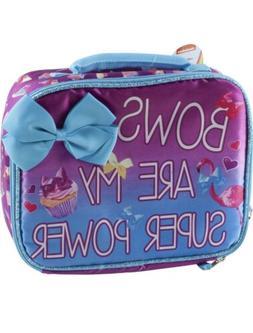 Jojo Siwa Bows Super Power School Insulated Lunch Box Soft T