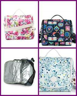 KIPLING KICHIROU INSULATED LUNCH TOTE BAG CROSSBODY FLORAL P