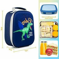 Kids Boys Toddlers Lunch Box, Cooler Insulated Lunch Bag Din