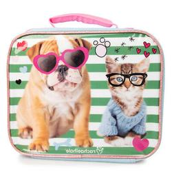 Kids Insulated Soft Lunch Bags Lunchbox Cooler Container Zip