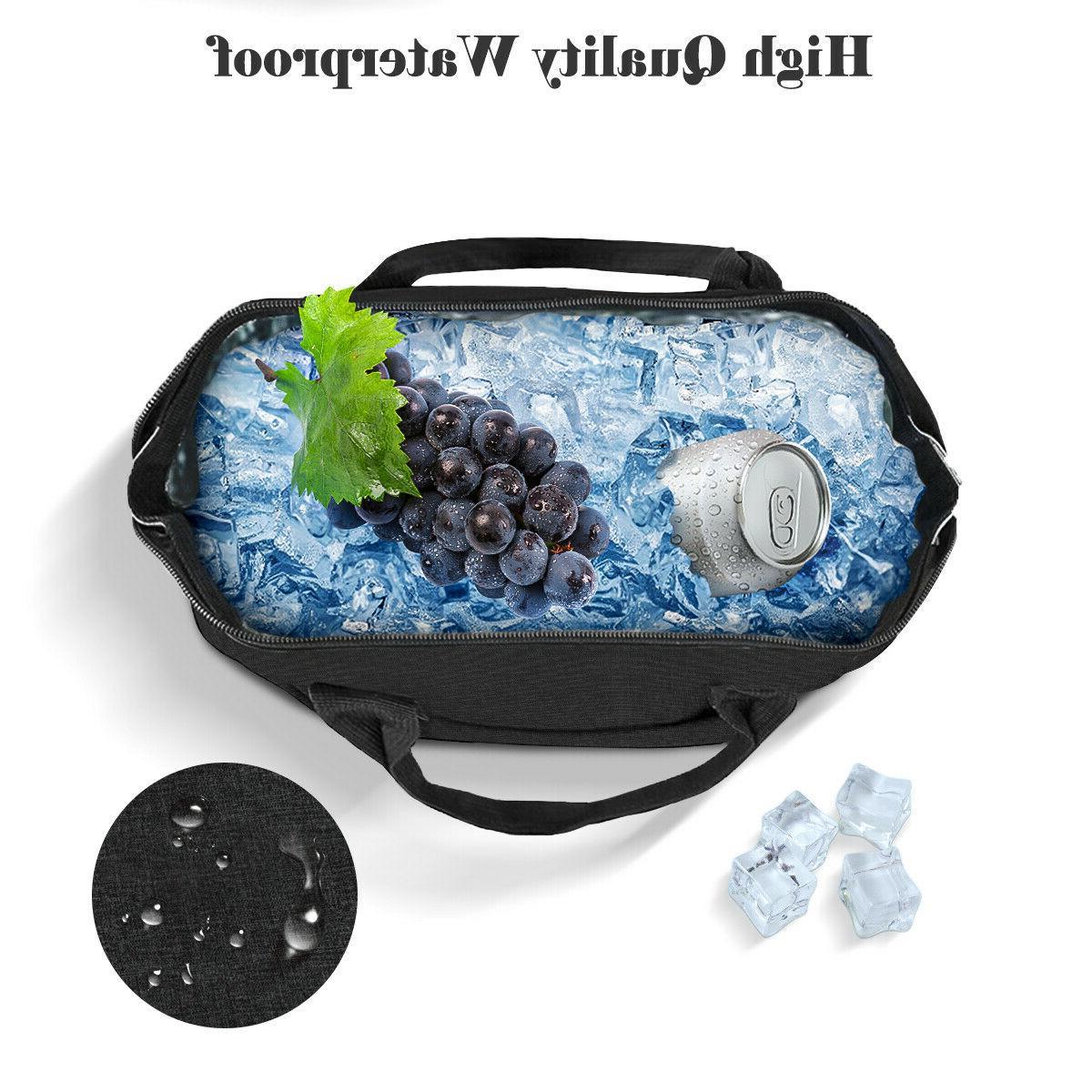 Cationic Lunch Waterproof Bag Men Women Tote