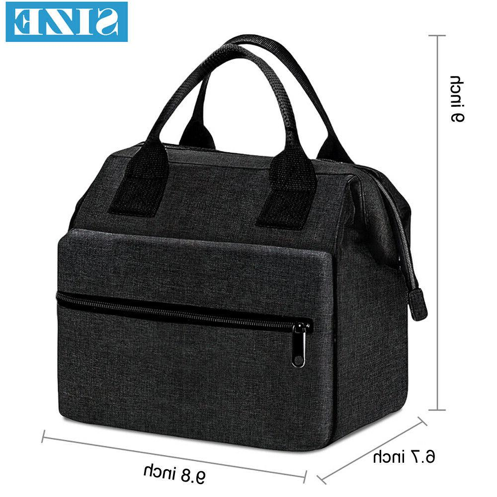 Cationic Box Waterproof Bag For Women Meal Tote Boxes