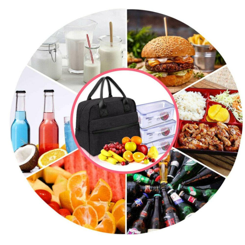 Cationic Lunch Bag For Men Women Meal Prep Tote Boxes