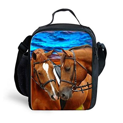 crazy horse small lunch bag box school