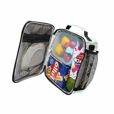 Cute Kids Lunch Cooler Lunch Tote Bag with Shoulde...