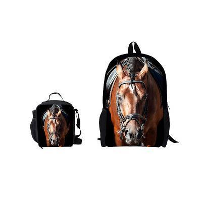 Cute School Satchel Travel Lunch Bag Pack for Girls