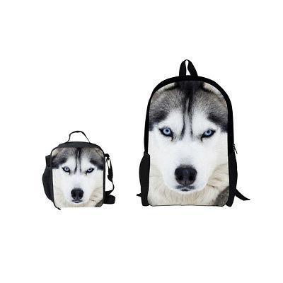 Cute Pug Satchel Travel Backpack Bag Girls