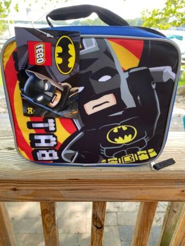 dc batman lunch storage bag 8x10 nwt