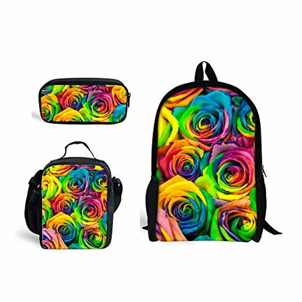 doginthehole Rainbow Bag One Bag+Pencil Bag