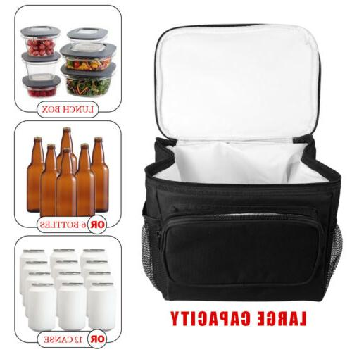 Food Thermos Insulated Lunch Bag For Women Men Kids Adults