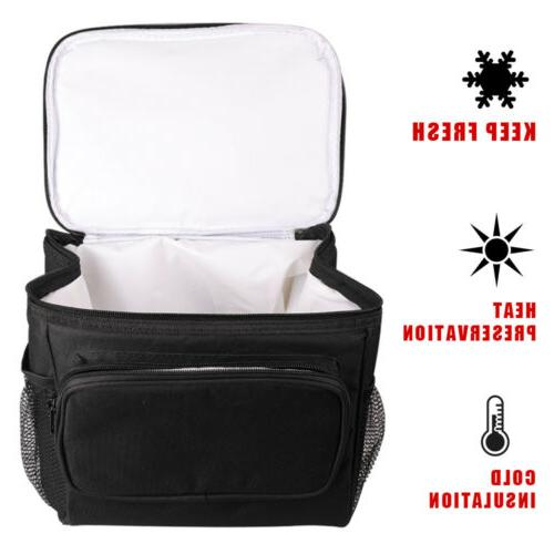 Food Insulated Women Men Adults Tote