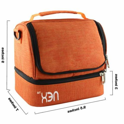 Insulated Bag Lunch for School Women Leakproof
