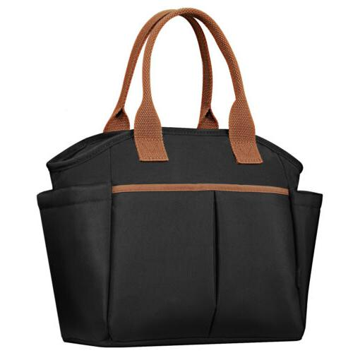 insulated lunch bag adult lunch tote bag